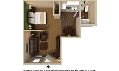 Furnished Studio - Washington, D.C. - Fairfax - Fair Oaks, 2