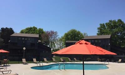 Pool, Woodgate Apartments, 0