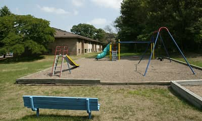 Playground, Oakridge Apartment, 1