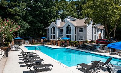 Pool, Garden Walk Apartments, 1