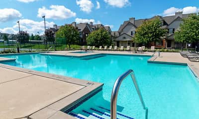 Pool, River Oaks Apartments, 1
