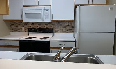 Kitchen, Deer Park Apartments, 2
