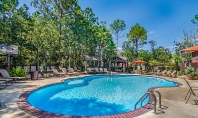 Pool, Lagniappe of Biloxi Apartment Homes, 0