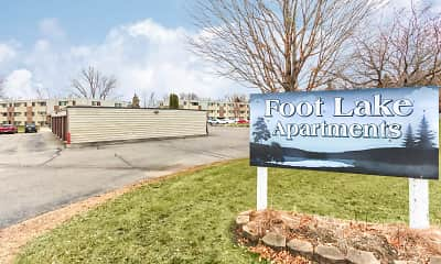 Community Signage, Foot Lake Apartments, 2