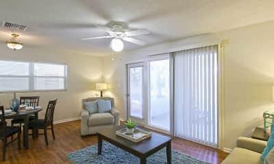 Living Room, NS Mayport Homes a Balfour Beatty Community, 1