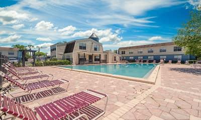 Pool, Topaz Plaza Apartments, 0