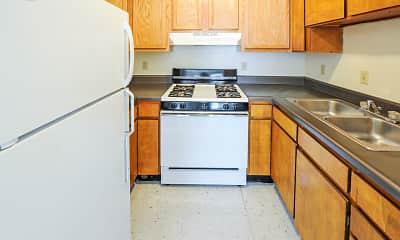 Kitchen, San Juan Apartments, 2