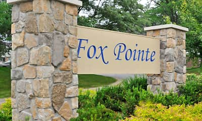 Community Signage, Fox Pointe Apartments, 0
