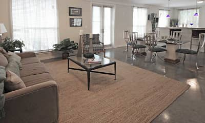 Living Room, The Saulet, 1