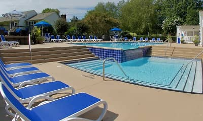 Pool, Huntington Apartments, 1