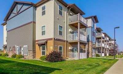 Building, West Ridge Apartments, 0