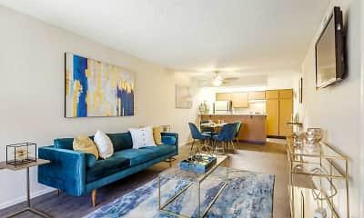 Living Room, Azura Apartments, 1