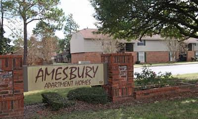 Community Signage, Amesbury, 2