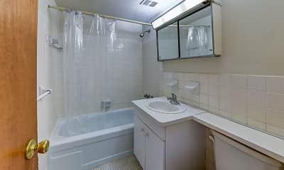 Bathroom, Fairhill Towers, 2