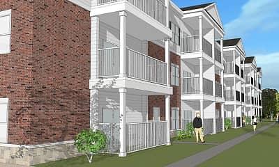 Building, 965 Flats, 2