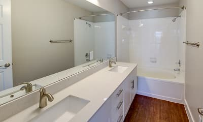 Bathroom, Shiloh Park Townhomes, 2