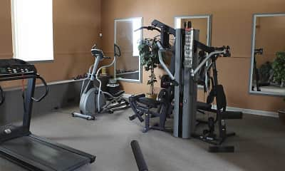 Fitness Weight Room, Ambassador Arms Apartments, 1