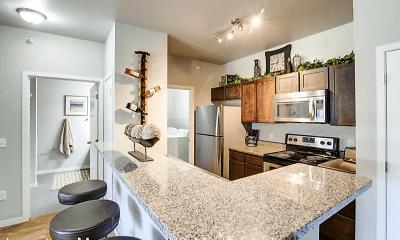 Kitchen, North Highlands Luxury Apartments, 0