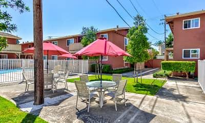 Recreation Area, Carmel Park Apartments, 1