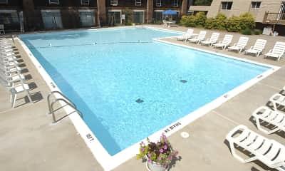 Pool, Grand Oaks Apartments, 0