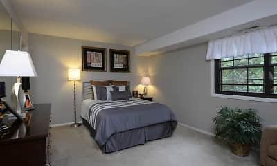 Bedroom, Liberty Gardens Apartments & Townhomes, 1