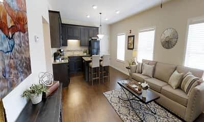 Living Room, 14th Avenue Lofts, 0