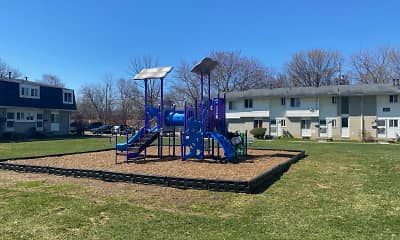 Playground, Midway Square Townhomes - Affordable, 0