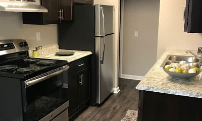 Kitchen, Adeline Circle Apartments, 0