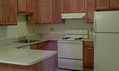 Kitchen, Orchard Place Senior Apartments, 1