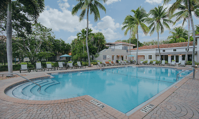 Pool, Coconut Palm Club Apartments, 1