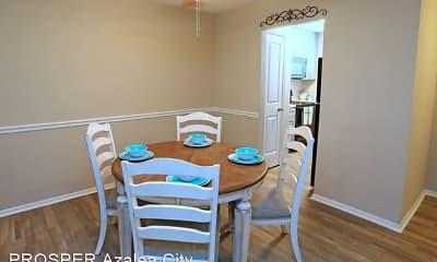 Dining Room, PROSPER Azalea City, 2