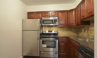 Kitchen, Garrison Apartments, 1