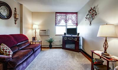 Living Room, Oneida Heights, 1