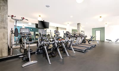 Fitness Weight Room, Mission Hills, 2