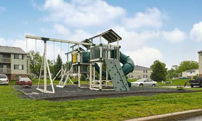 Playground, Cobblegate Apartments, 1