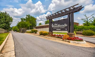 Community Signage, The Woodlands Apartment Homes, 2