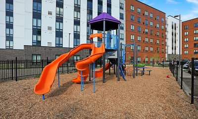 Playground, Timber & Tie Apartments, 2