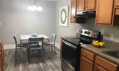 Kitchen, Woodland Ridge, 0