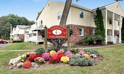 Community Signage, Saratoga Garden Apartments, 0