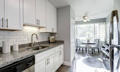 Kitchen, Satyr Hill Apartments, 0