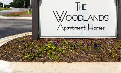 Community Signage, The Woodlands Apartment Homes, 0