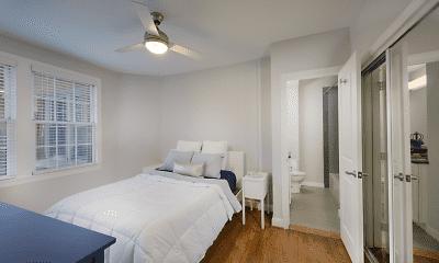Bedroom, The Metropolitan Apartments, 2