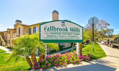 Community Signage, Fallbrook Hills, 2