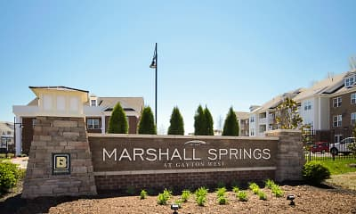 Community Signage, Marshall Springs At Gayton West, 1