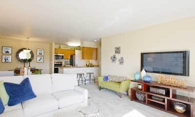Living Room, Abbey Ridge Apartment Homes, 1