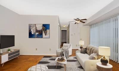 Living Room, Azalea Apartments, 2