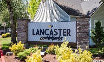 Community Signage, Lancaster Commons, 1