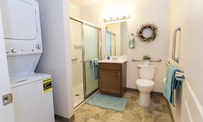 Bathroom, Lafayette Square Senior Apartments, 2