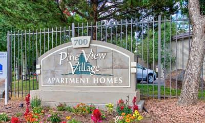 Community Signage, Pine View Village, 2