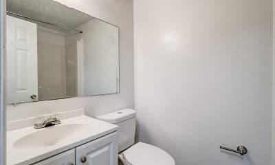 Bathroom, Stone Cove Apartments, 2